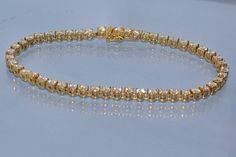 Benoit Joaillier - Bijoux - Bracelets - Bracelet rivière diamants et or jaune