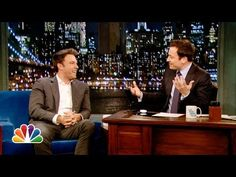 On Late Night With Jimmy Fallon, Ben Affleck reassured fans about his role as Batman in Warner Bros. upcoming Superman/Batman film directed by Man of Steel director Zack Snyer. Superman Movies, Batman And Superman, Show Video, Video New, Ben And Jennifer, Jennifer Garner, Jimmy Fallon Youtube, Jimmy Fallon Show, Man Of Steel