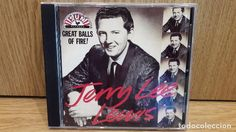 JERRY LEE LEWIS. GREAT BALLS OF FIRE. CD / SUN RECORDS - 1989 / 30 TEMAS / CALIDAD LUJO.