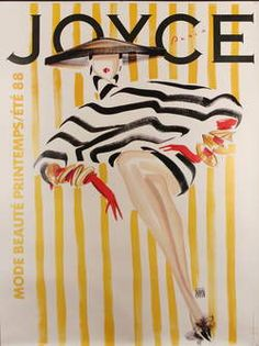 French vintage poster