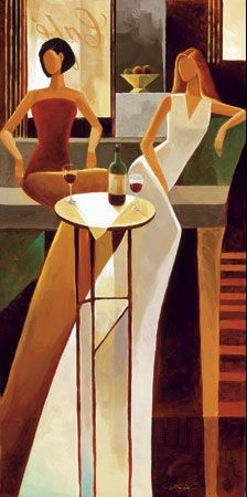Les Sirens by Keith Mallett