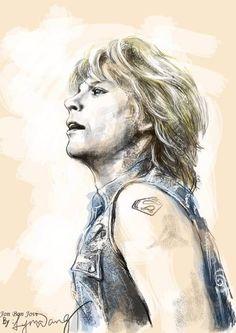 Jon Bon Jovi by Wacom