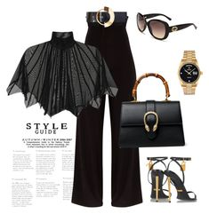 Untitled #602 by sanchez-drummond on Polyvore featuring polyvore fashion style Tom Ford Gucci Rolex Roksanda clothing
