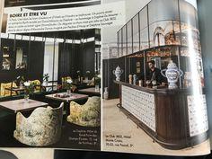 Resto Paris, Bar, Liquor Cabinet, Storage, Home Decor, Rum, Purse Storage, Decoration Home, Room Decor
