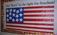 bulletin board for veterans day