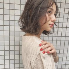Hair And Beauty Studio Daily Hairstyles, Short Hairstyles For Women, Korean Haircut, Hair Arrange, Japanese Hairstyle, Hair Reference, Dye My Hair, Hair Images, Great Hair