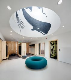 Now I need a dome with a whale in my house. Thanks Internet. (House of Children in Saunalahti / JKMM Architects.)