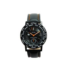 The Features of World Time Wrist Watch-WWB We present this WWB series to people who enjoy sensing the move of the world at any moment. By infusing elements of the metal and genuine leather; we crea...