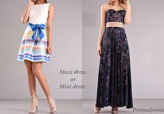 6896668cff15  Maxi dress or  Mini dress ποιο σας αρέσει περισσότερο     Φορέματα