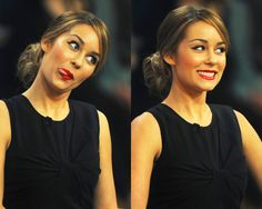 Lauren Conrad who always stays true to herself and acts like a classy lady but can still have a little fun