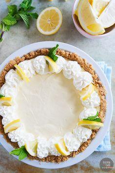 Lemon Cream Pie | Community Post: 27 Heavenly Things To Make When Life Gives You Lemons