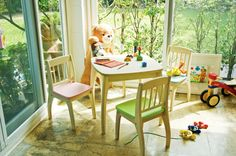 Junior Table and Chairs Set jigsaw puzzle in Puzzle of the Day puzzles on TheJigsawPuzzles.com