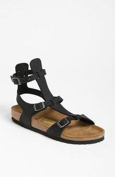 eca6afe9c16 Birkenstock  Chania  Oiled Leather Sandal Low Heel Sandals