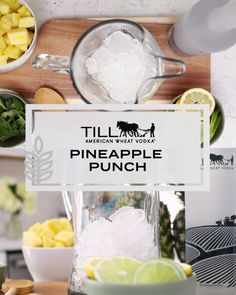 What better way to kick off summer than big batch cocktails and Memorial Day entertaining? Everyone will love you for bringing this Pineapple Punch to the party.