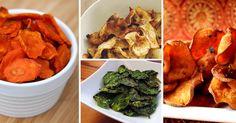 6 receptov na zdrave zeleninove chipsy