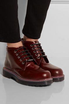McQ Alexander McQueen|Leather ankle boots