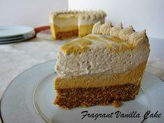 Fragrant Vanilla Cake: The Ultimate Raw Carrot Cake