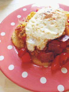 gluten free lunch with some simple kitchen essentials