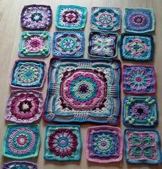 "Patter found on ""Zooty Owl's Crafty Blog: Seaside Winter Blanket"""