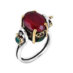 Inele de argint - modele deosebite, cu pietre si doua fete. Handmade Israel. Israel, Gemstone Rings, Gemstones, Jewelry, Fashion, Moda, Jewlery, Bijoux, Fashion Styles