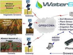 This smart irrigation and water management system is controlled by your smartphone