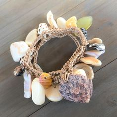 Boho Molokai shell wrap bracelet anklet or necklace with