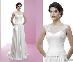 Eidel #miquelsuay #bridalcollection Formal Dresses, Wedding Dresses, Bridal, Fashion, Confident Woman, Curves, Princess, Women, Bridal Dresses