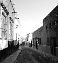 The serene streets of San Miguel de Allende, Mexico