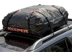 Cargo Rooftop Bag Carrier, Car Roof Top Luggage Rack Waterproof Storage Keeper…