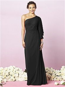 After Six Style 6637 #black #bridesmaid #dress