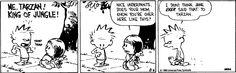 Calvin and Hobbes Tarzan