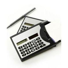 5f791cbfc Calculadora Porta Cartão Caneta Personalizada. Você pesquisou por Porta  caneta - Omega Brindes