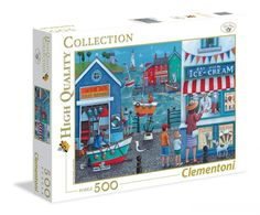 Clementoni 31670 Crowded Puzzle Modes of Transport 1500 Pieces Jigsaw Puzzle #Clementoni