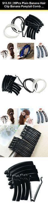 Women Hair Clip Vintage Thick Hair Riser Accessory Flexible Banana Comb Clip