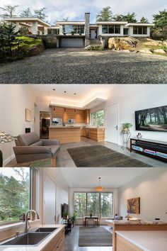 🌲 A beautiful new private contemporary suite situated on a stunning one-acre property with a quiet country view, in an exclusive location of Victoria, BC. Vancouver Island, Mountain View, Vacation Rentals, Acre, Victoria, Contemporary, Mansions, Country, House Styles