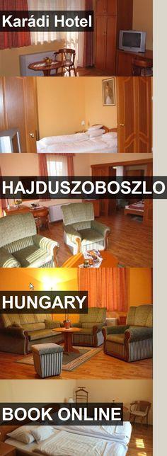 Hotel Karádi Hotel in Hajduszoboszlo, Hungary. For more information, photos, reviews and best prices please follow the link. #Hungary #Hajduszoboszlo #KarádiHotel #hotel #travel #vacation