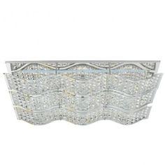 Prostokątny plafon kryształowy Spindle - LampyTanie - 1276,64 PLN