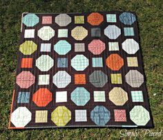 Simply Pieced: Snowball Quilt
