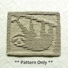 Sloth Knitting Pattern for dishcloth