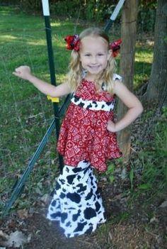 Farm/cowgirl custom outfit
