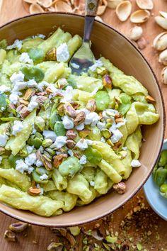 Wilkuchnia - Blog kulinarny z szybkimi, prostymi i sprawdzonymi przepisami. Dużo dobrego jedzenia: przekąski, ciasta, dania wege, fit desery i triki kulinarne. Pasta Salad, Cobb Salad, Vegetarian Recipes, Healthy Recipes, Pasta Recipes, Food And Drink, Bob, Menu, Dinner
