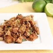 Cilantro Lime Chicken and Rice Recipe - Laura in the Kitchen - Internet Cooking Show Starring Laura Vitale