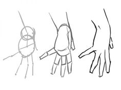 how to draw disney hands | How To Draw A Proportioned Hand Structure - Traditional-Drawing ...