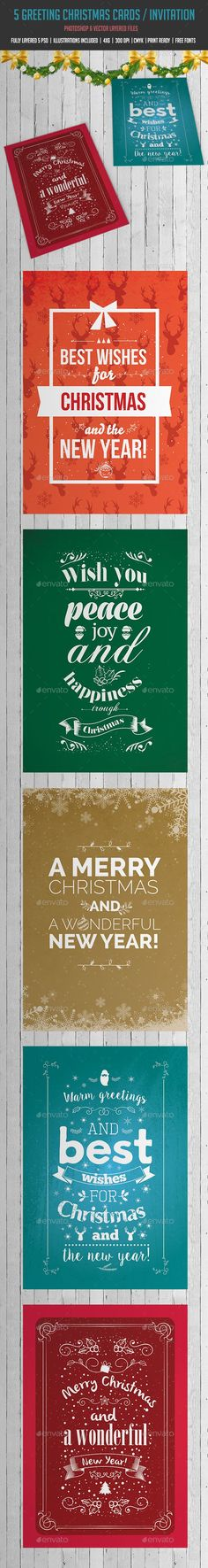 Download Free Christmas Greeting Card Template-1001 in CorelDraw - free greeting cards templates for word