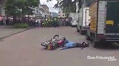 Acaban de abatir a este hombre en Ibague, Colombia, presunto sicario
