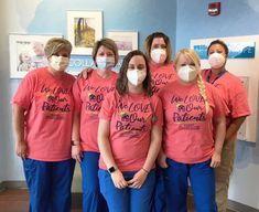 The team at OHC West loves caring for their patients so much they decided to display it on colorful shirts, which brought smiles to the patients and their family members. Hematology, Colorful Shirts, Cancer, Events, Posts, Display, News, Floor Space, Messages