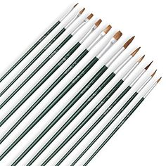 Art and Face Paint Brush Set (36-Pack) - Bonus Watercolor... https://smile.amazon.com/dp/B01KHRGFRM/ref=cm_sw_r_pi_dp_x_aO0wybK1GP7X6