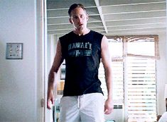 The only reason to watch Battleship pt.4-this man getting pissed off! Alexander Skarsgard