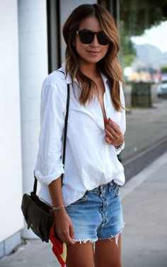white shirt outfit #6