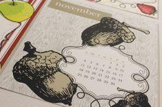 2015 Desktop Calendars from Art Paper Scissors $15.00 https://www.etsy.com/listing/165065684/2015-desktop-calendar?ref=shop_home_active_8